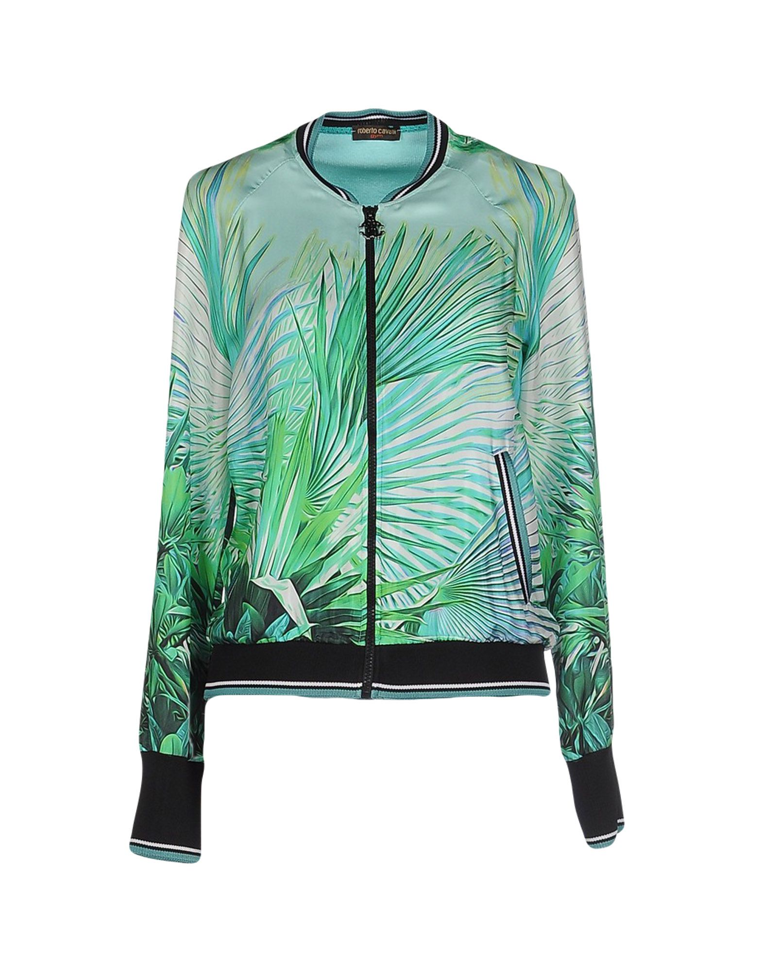 ROBERTO CAVALLI GYM Jacket in Turquoise