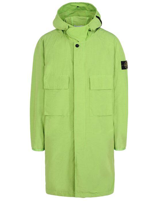 Full-length jacket 70532 POLYESTER SHANTUNG STONE ISLAND - 0