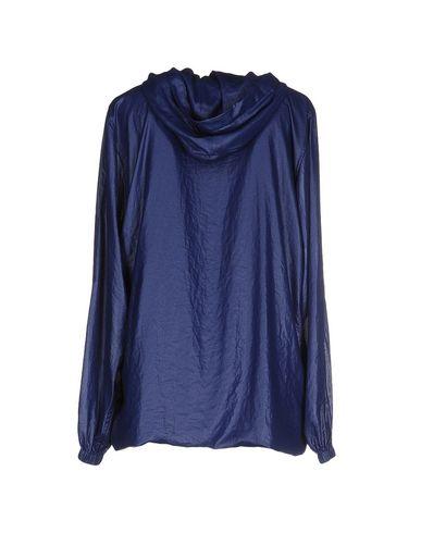 Фото 2 - Женскую куртку  синего цвета