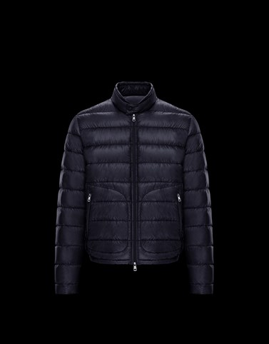 ACORUS Blue Down Jackets Man