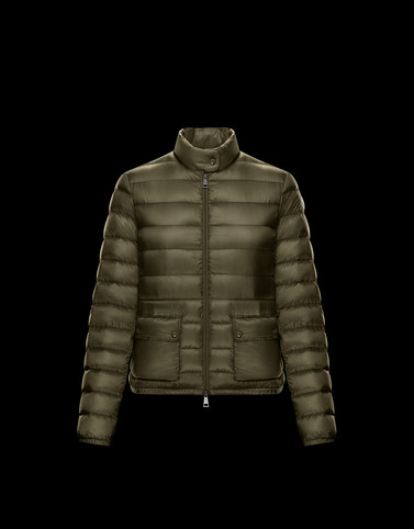 Moncler Short Down Jackets Woman: LANS