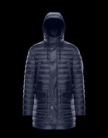 BENJAMIN Dark blue Down Jackets