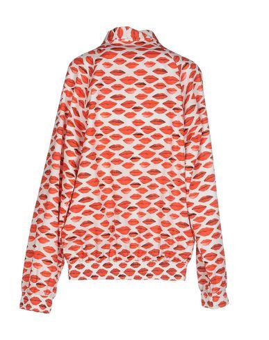 Фото 2 - Женскую куртку PETER JENSEN красного цвета