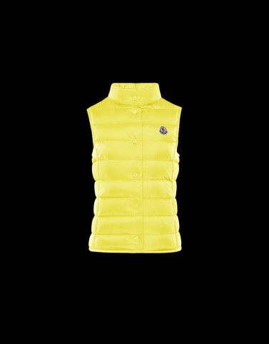 LIANE Yellow Category Waistcoats Woman