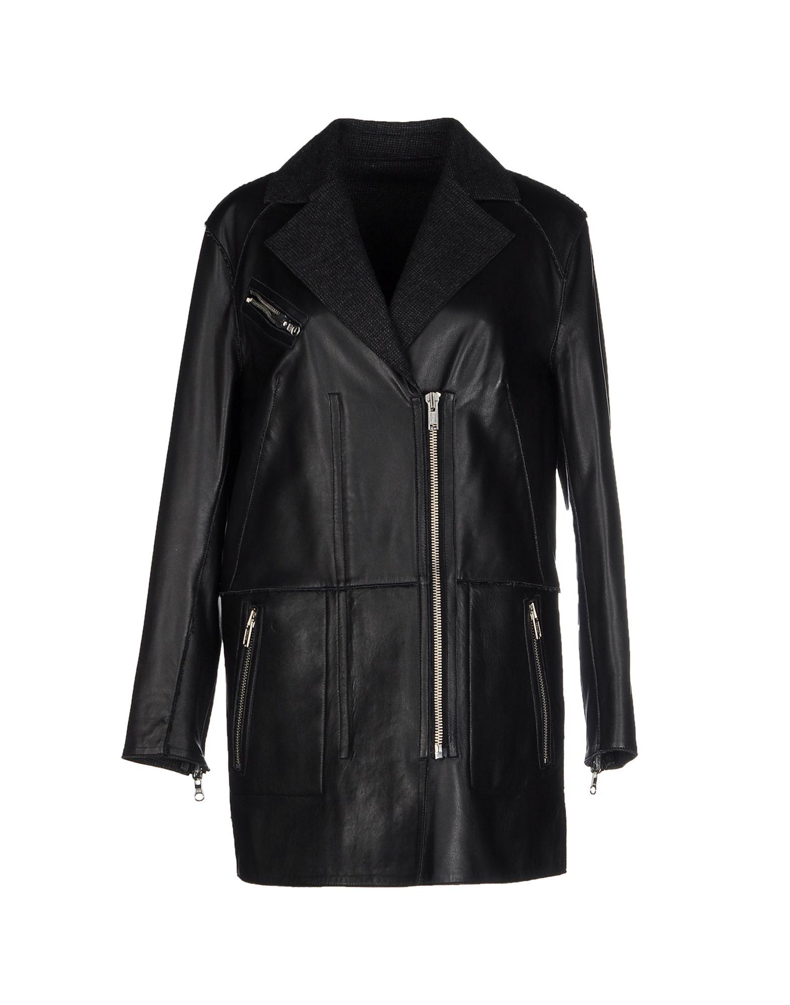 MUUBAA Легкое пальто muubaa верхняя одежда из кожи