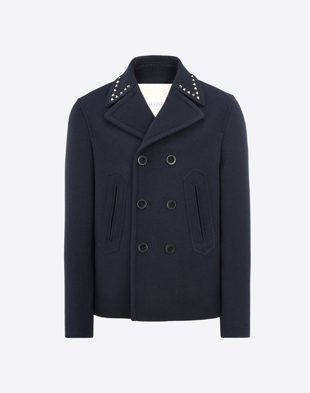 ROCKSTUD UNTITLED PEACOAT