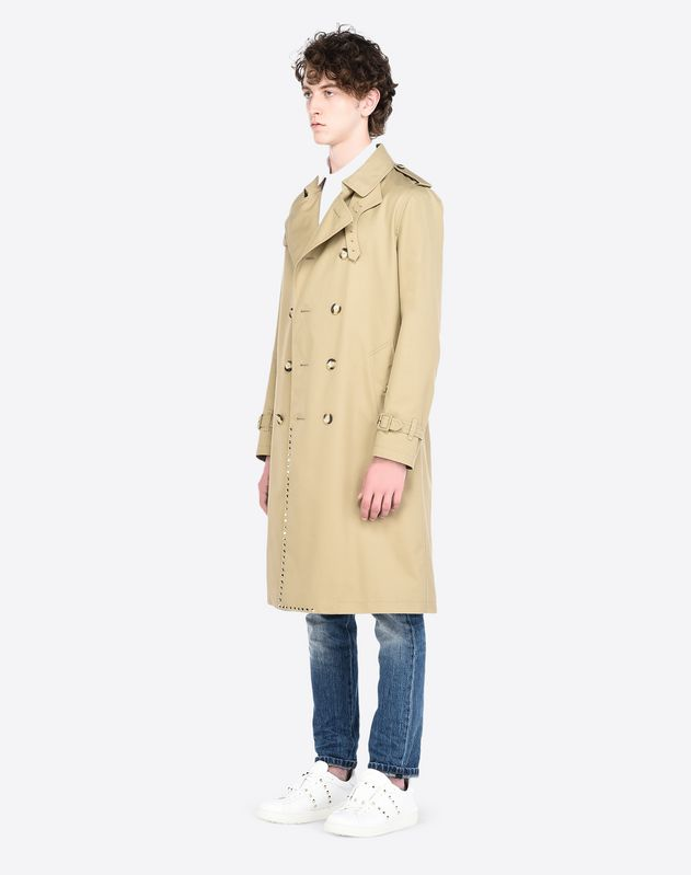 ROCKSTUD UNTITLED TRENCH COAT