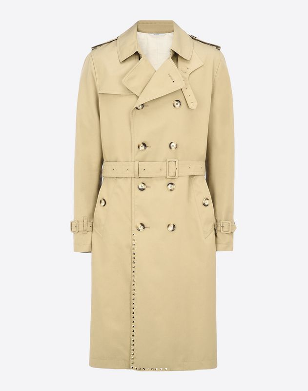 TRENCH-COAT ROCKSTUD UNTITLED