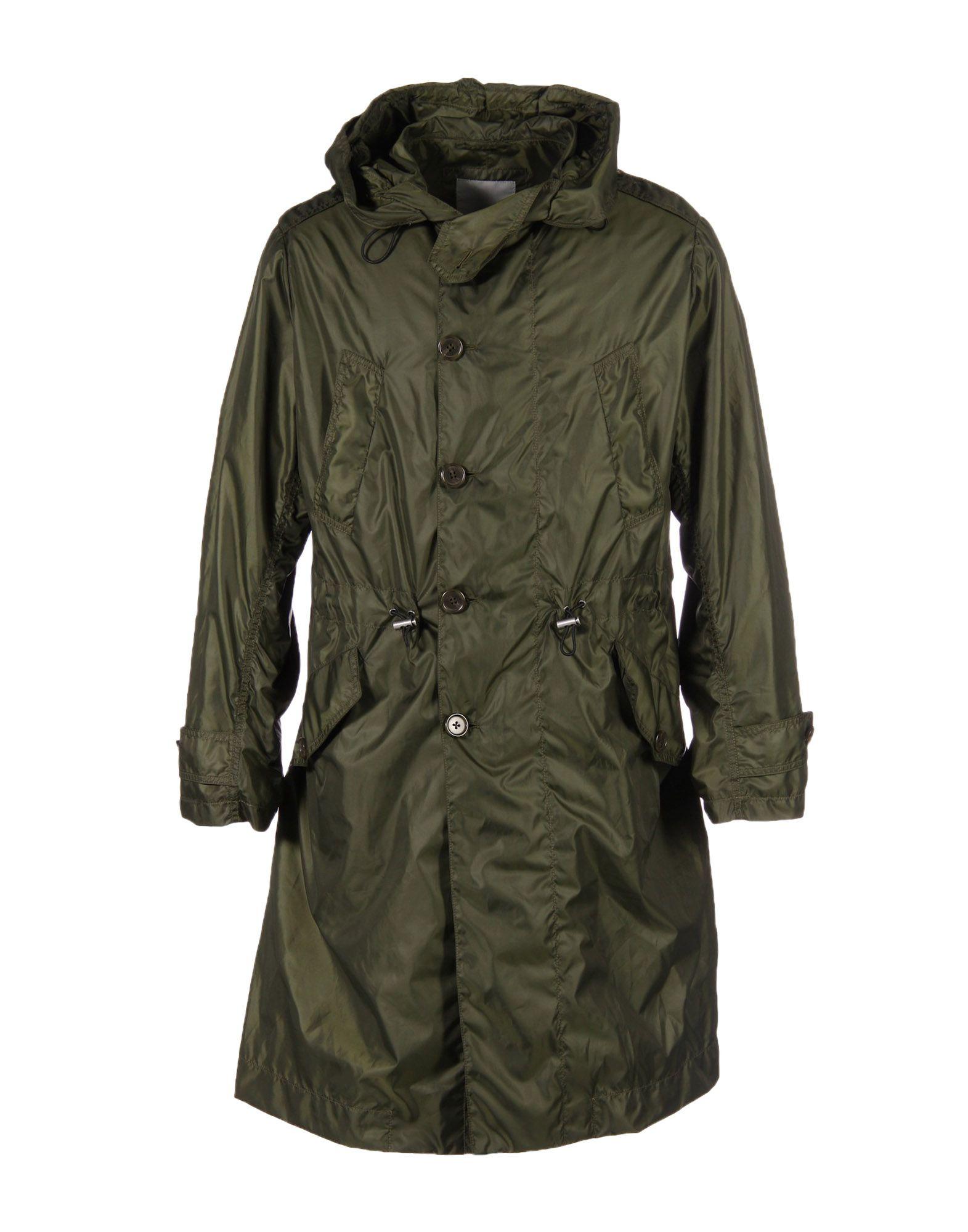 CADET Overcoats in Green