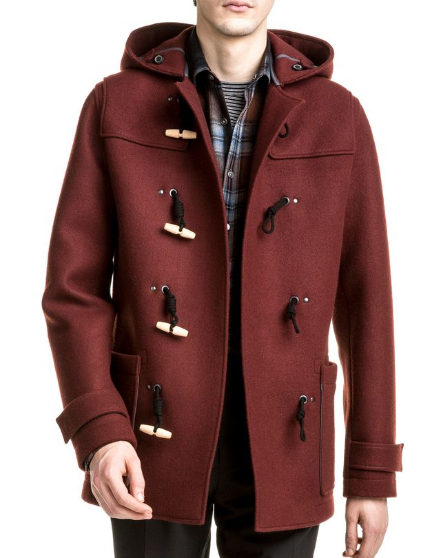 DOUBLE FACE DUFFLE COAT, Outerwear Men | Online Store