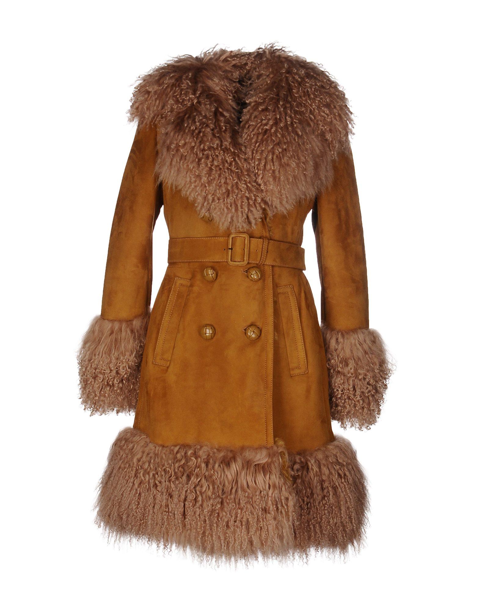 GUCCI Пальто gucci кожаные ремень с монограммами