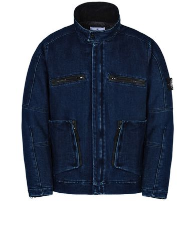 STONE ISLAND Denim outerwear 42234 POLYPROPYLENE DENIM