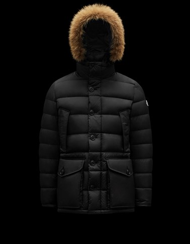 CLUNY Black Category Parka Man