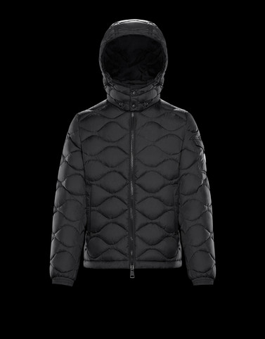 MORANDIERES Black Down Jackets