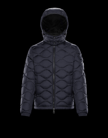 MORANDIERES Dark blue Down Jackets Man