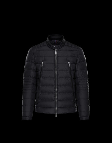 AMIOT Black Category Biker jackets Man