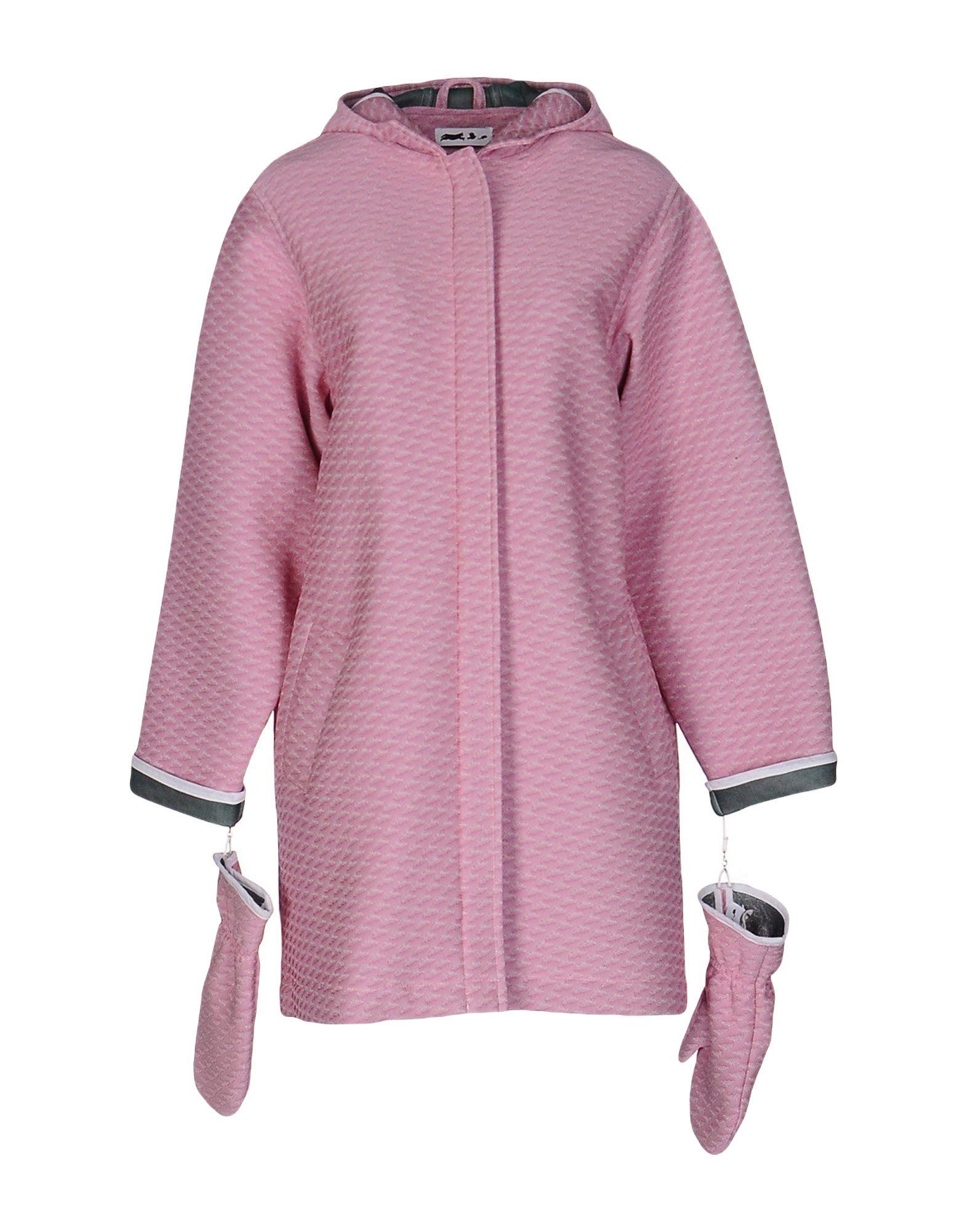 LEO Full-Length Jacket in Pink