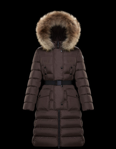 MONCLER KHLOE - Long outerwear - women