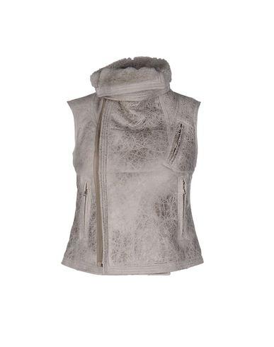 Фото - Женскую куртку  светло-серого цвета