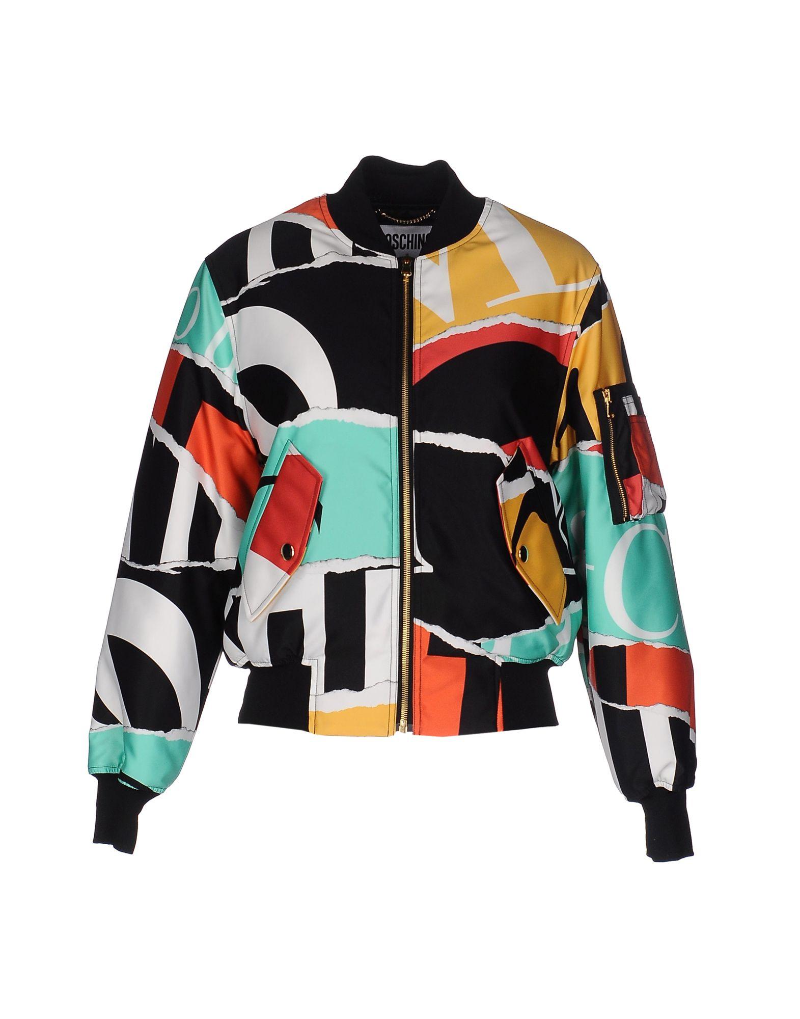 MOSCHINO Куртка короткая куртка beach love s13xv06 2014