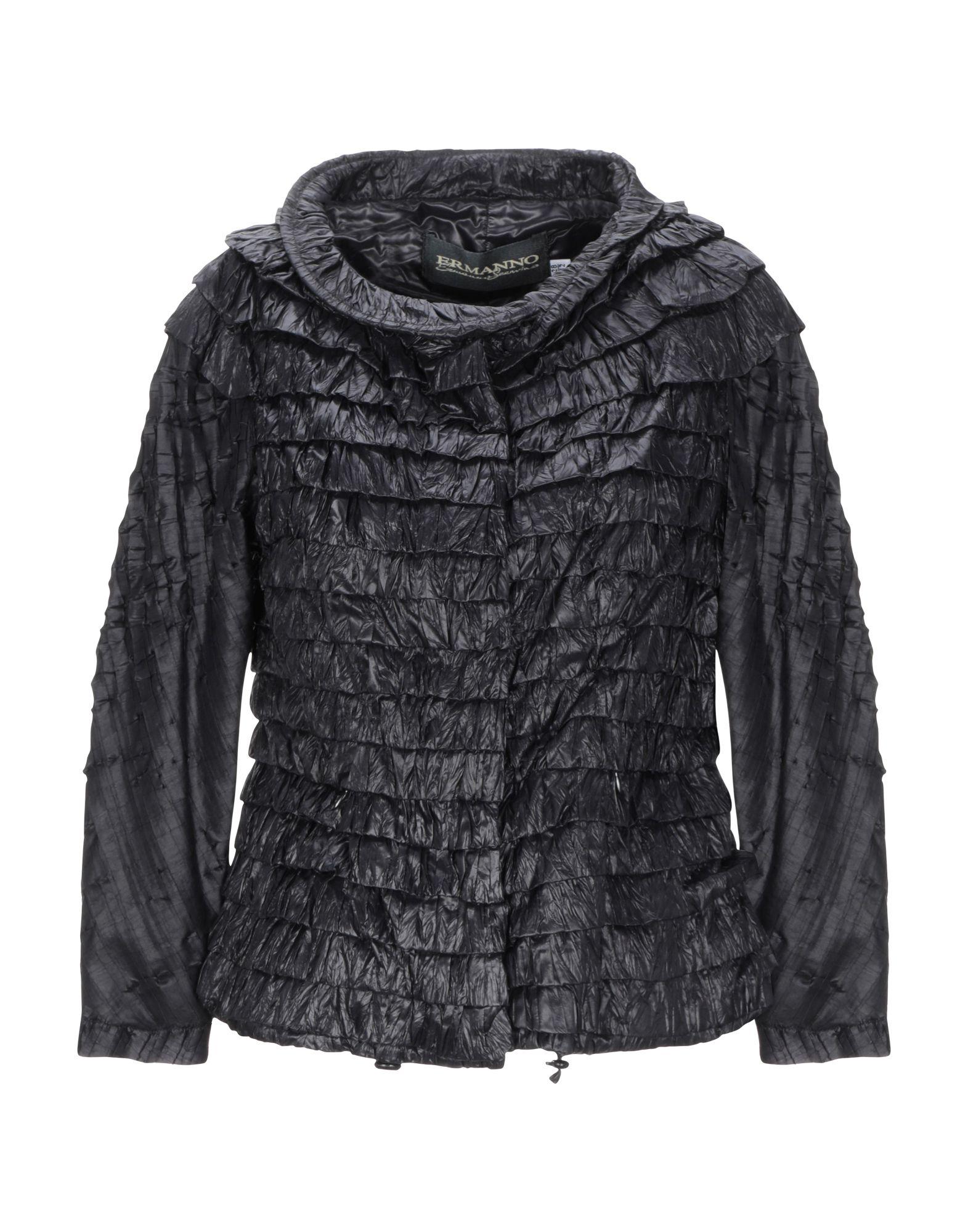 ERMANNO DI ERMANNO SCERVINO Куртка свободная куртка с застежкой на кнопки ermanno by ermanno scervino