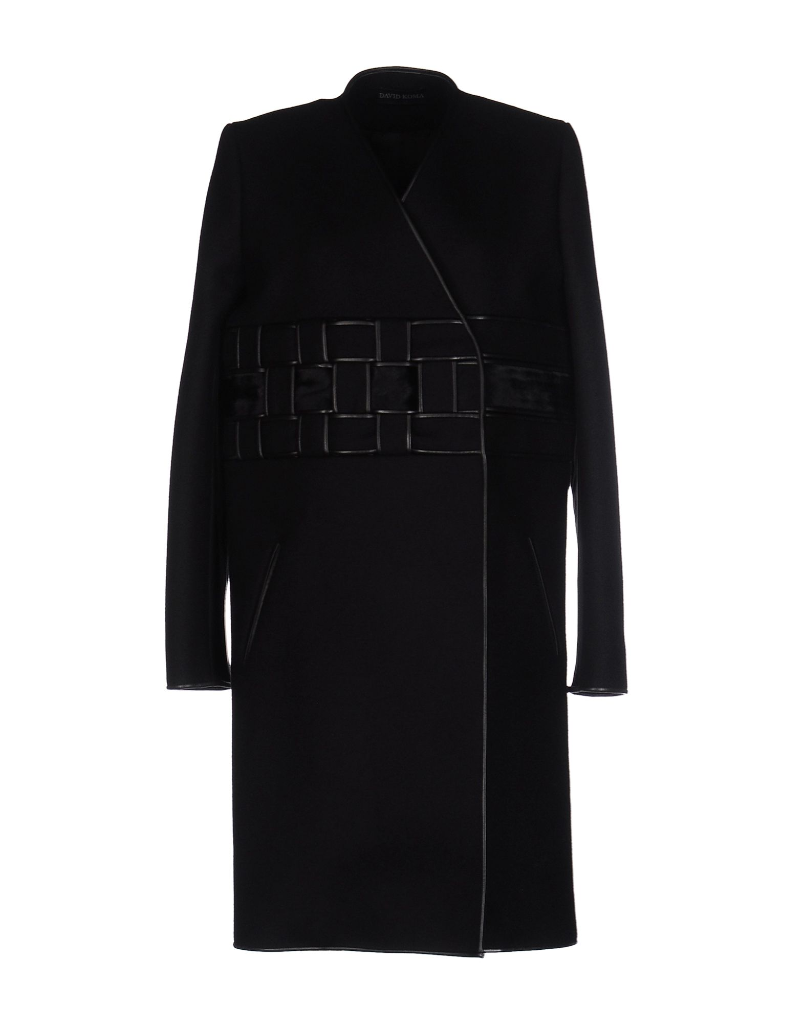 DAVID KOMA Пальто недорго, оригинальная цена