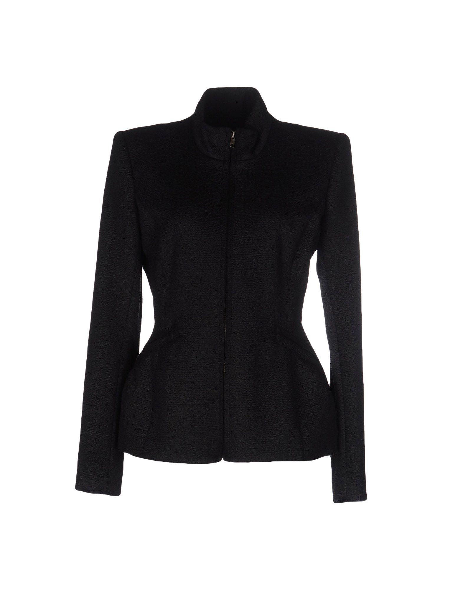 《送料無料》THEYSKENS' THEORY レディース テーラードジャケット ブラック 6 毛(アルパカ) 75% / バージンウール 20% / ポリウレタン 5% / ポリウレタン?
