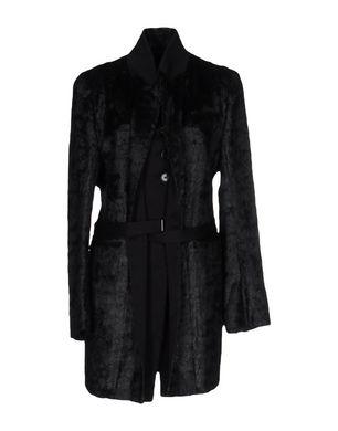 ANN DEMEULEMEESTER Damen Mantel Farbe Schwarz Größe 6 Sale Angebote Hornow-Wadelsdorf