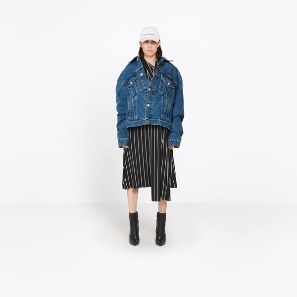 BALENCIAGA Jacket D Swing Denim Jacket g