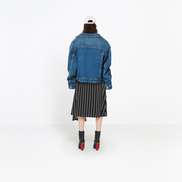 BALENCIAGA Jacket D Swing Denim Jacket h