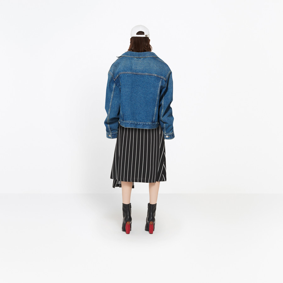 BALENCIAGA Swing Denim Jacket Jacket D d