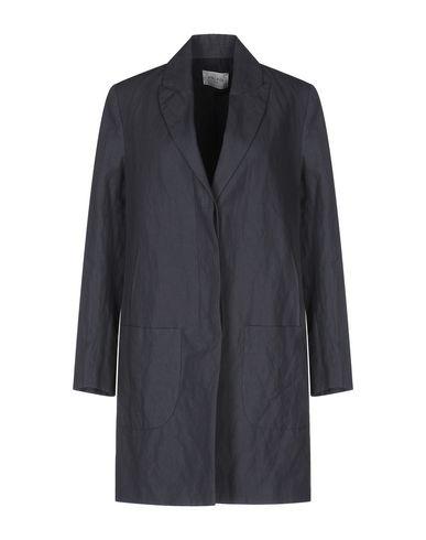 Фото - Легкое пальто от PALTÒ грифельно-синего цвета