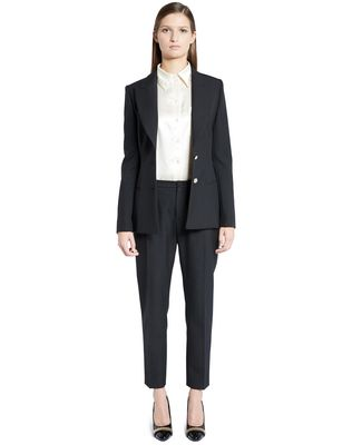 LANVIN HEMP CANVAS TAILORED JACKET Jacket D f