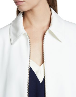 ALBÈNE ZIPPERED JACKET