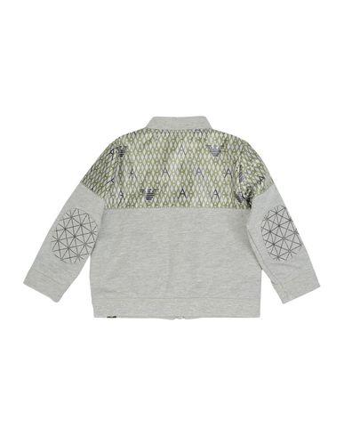 ARMANI JUNIOR Baby Jacke Grau Größe 12 60% Baumwolle 40% Polyester
