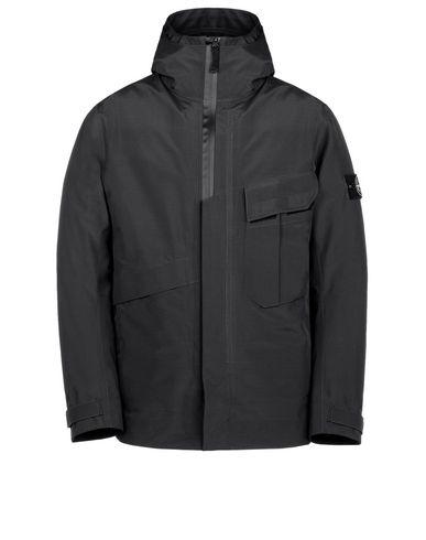 STONE ISLAND Mid-length jacket 41329 TANK SHIELD - MULTI LAYER FUSION TECHNOLOGY