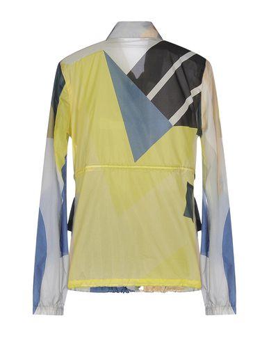 LACOSTE Damen Jacke Gelb Größe 32 100% Polyamid