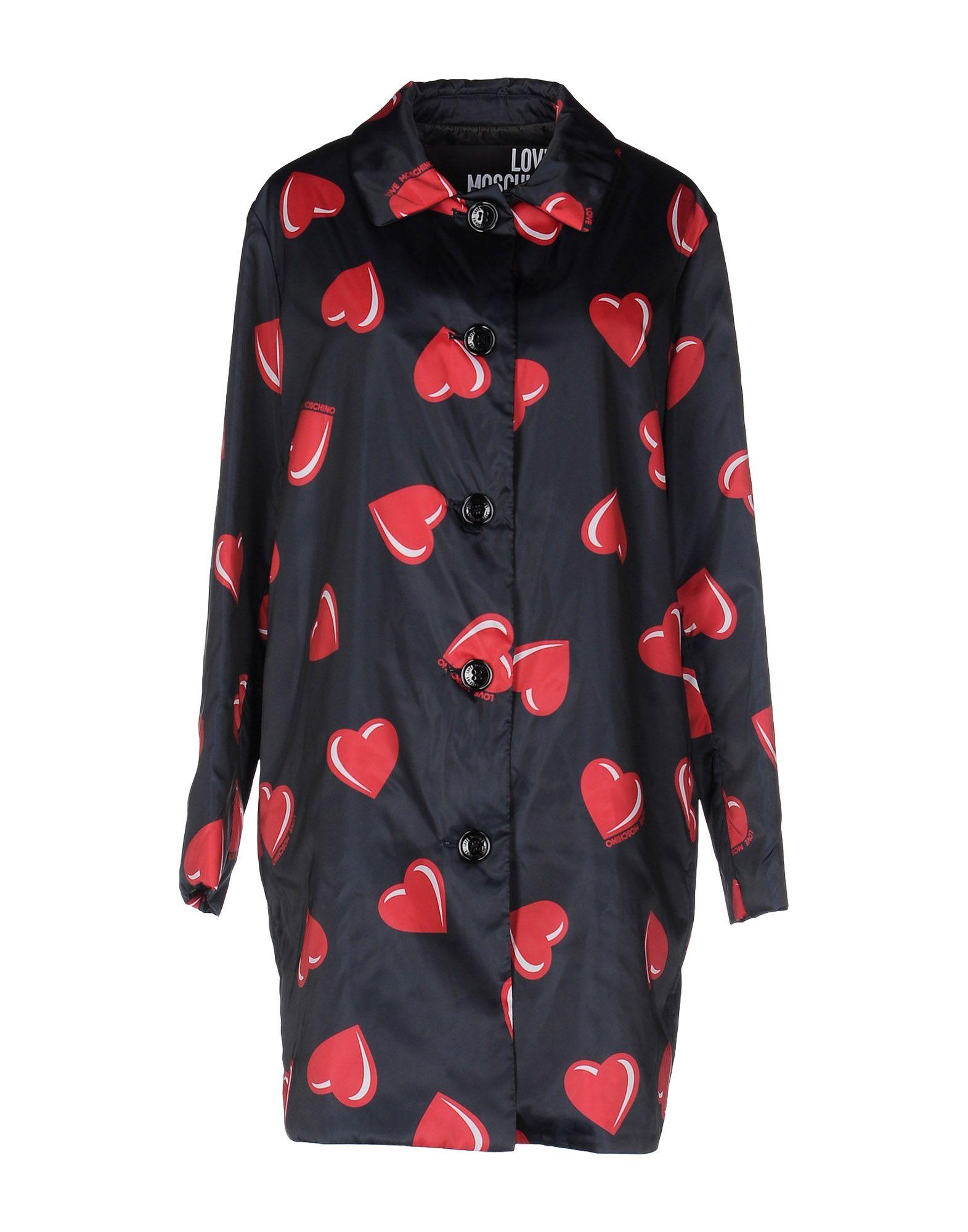 LOVE MOSCHINO Легкое пальто moschino couture легкое пальто