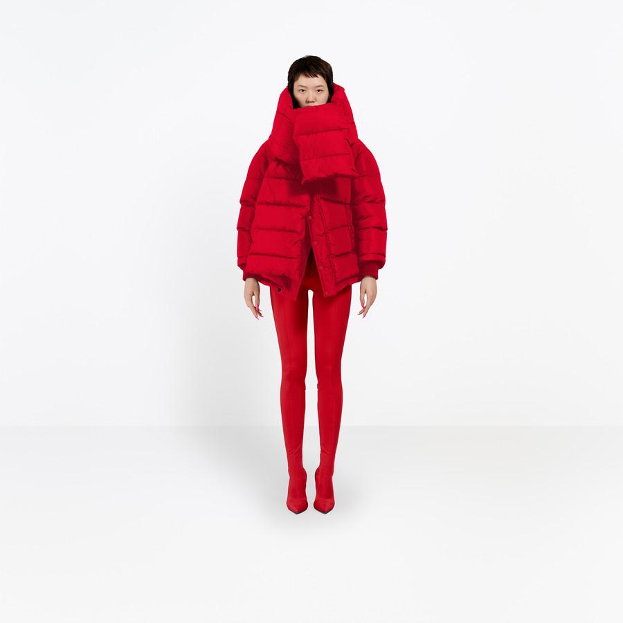 BALENCIAGA Swing Puffer Jacket Coats D g