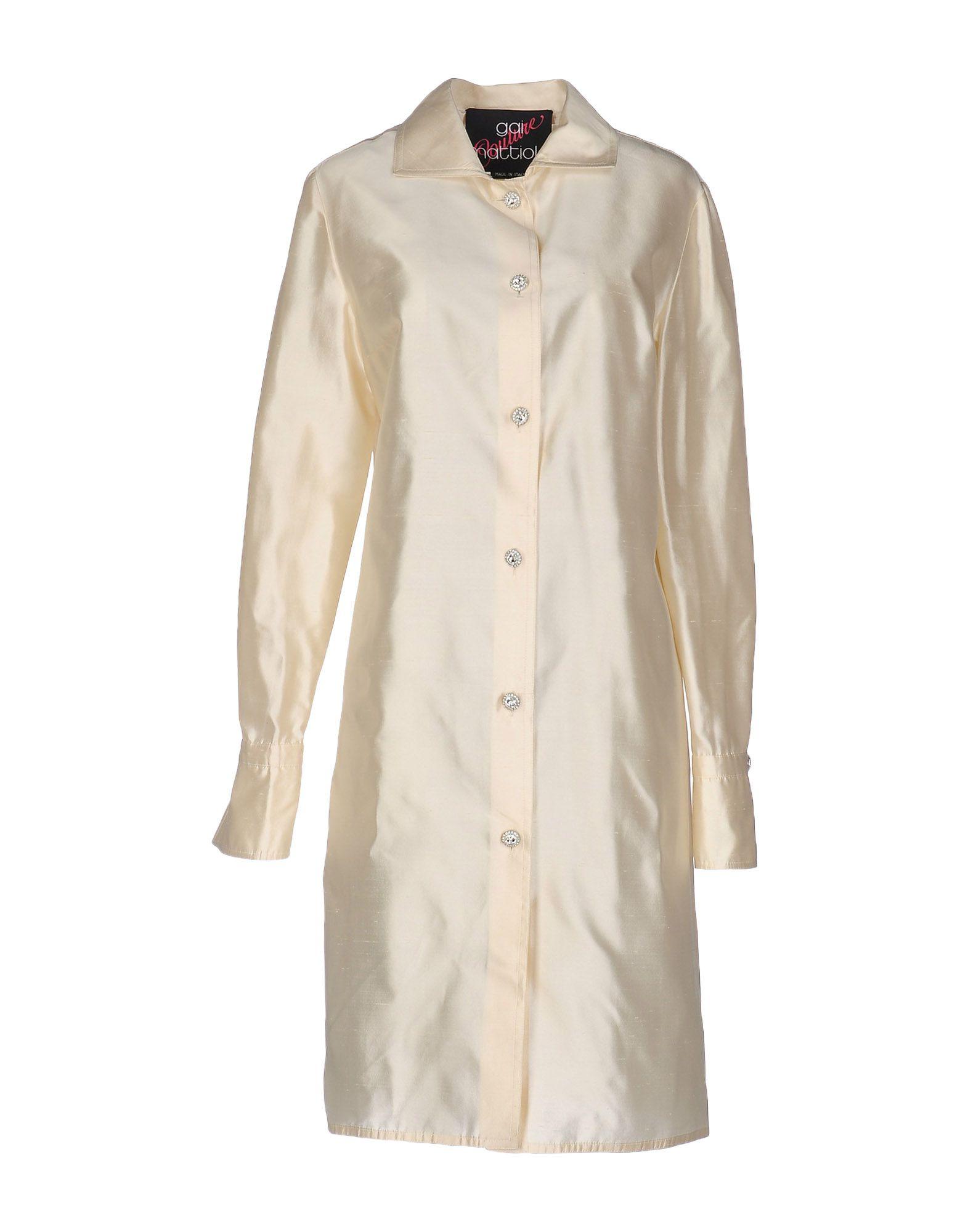 цена GAI MATTIOLO COUTURE Легкое пальто онлайн в 2017 году