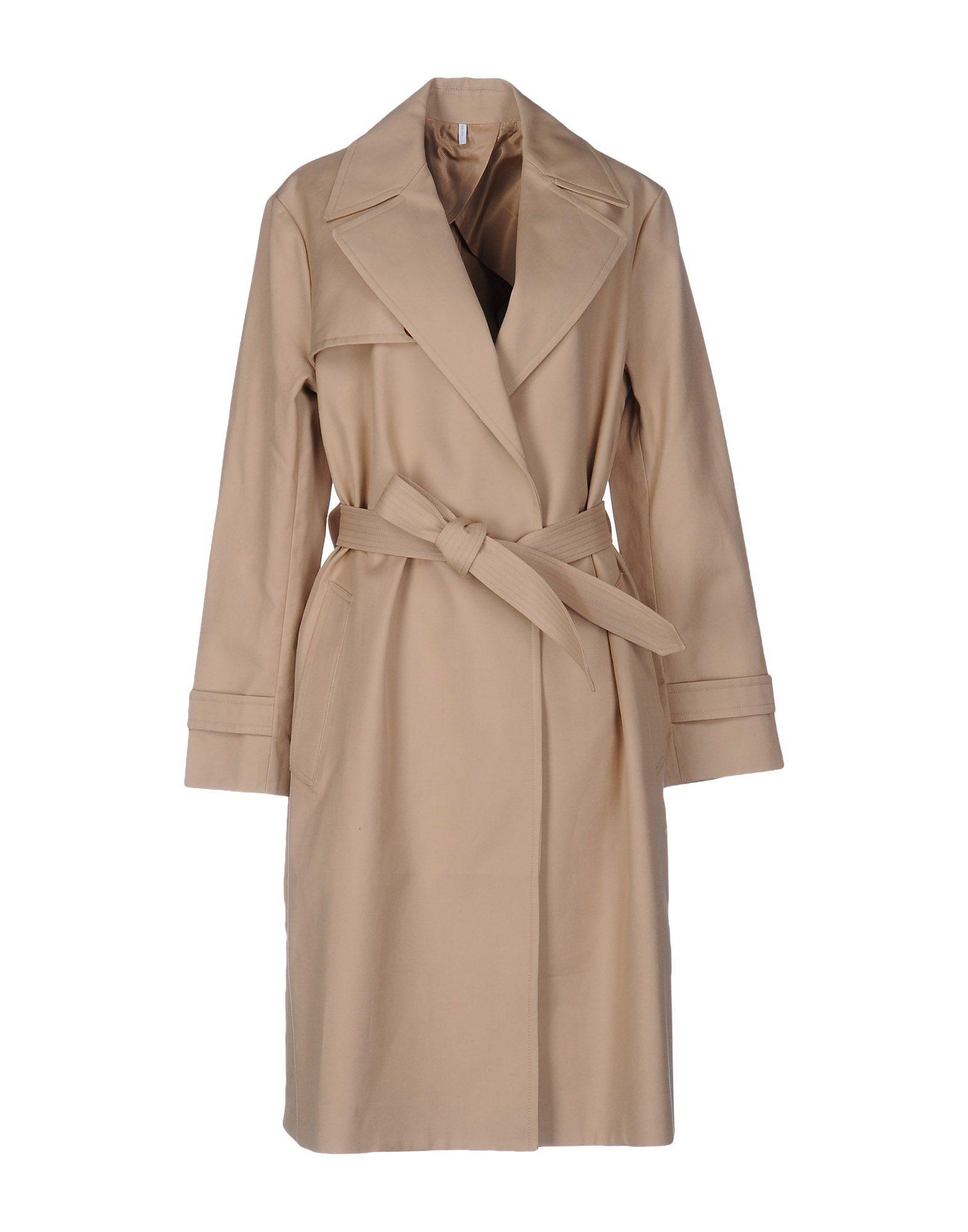 HELMUT LANG Легкое пальто helmut lang футболка с длинными рукавами и накладками на локтях