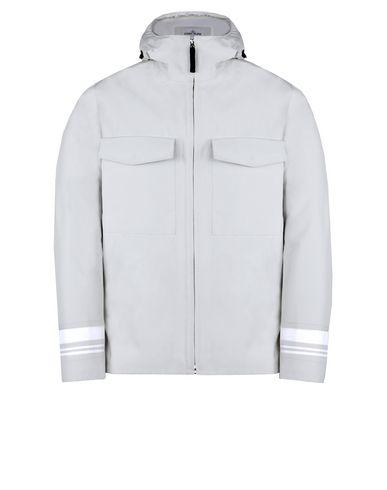 STONE ISLAND Mid-length jacket 427X1 STONE ISLAND MARINA _TANK SHIELD - MULTI LAYER FUSION TECHNOLOGY