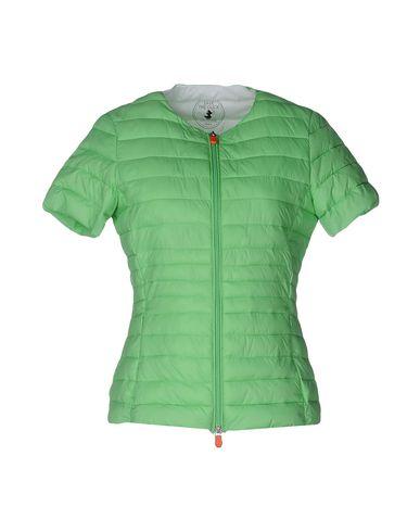 Купить Женскую куртку SAVE THE DUCK светло-зеленого цвета