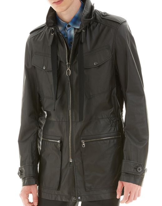 lanvin lightweight safari jacket men