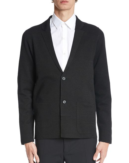lanvin milano knit jacket men