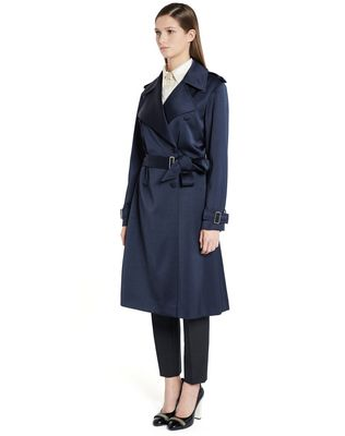LANVIN SATIN COAT Outerwear D d