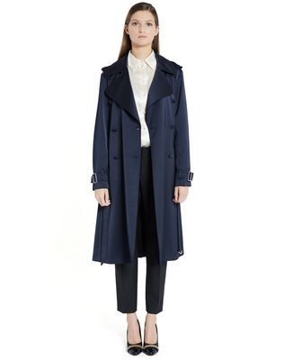 LANVIN SATIN COAT Outerwear D f