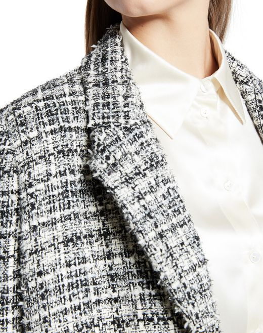 lanvin tweed coat women