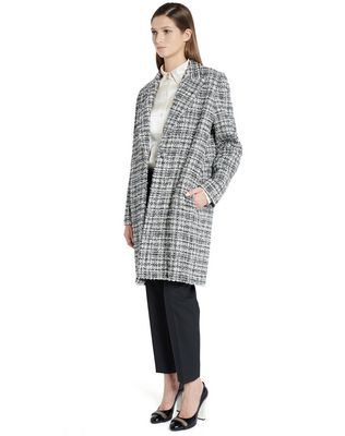 LANVIN TWEED COAT Outerwear D d