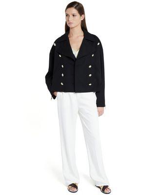 LANVIN GRAIN DE POUDRE WOOL JACKET Jacket D f